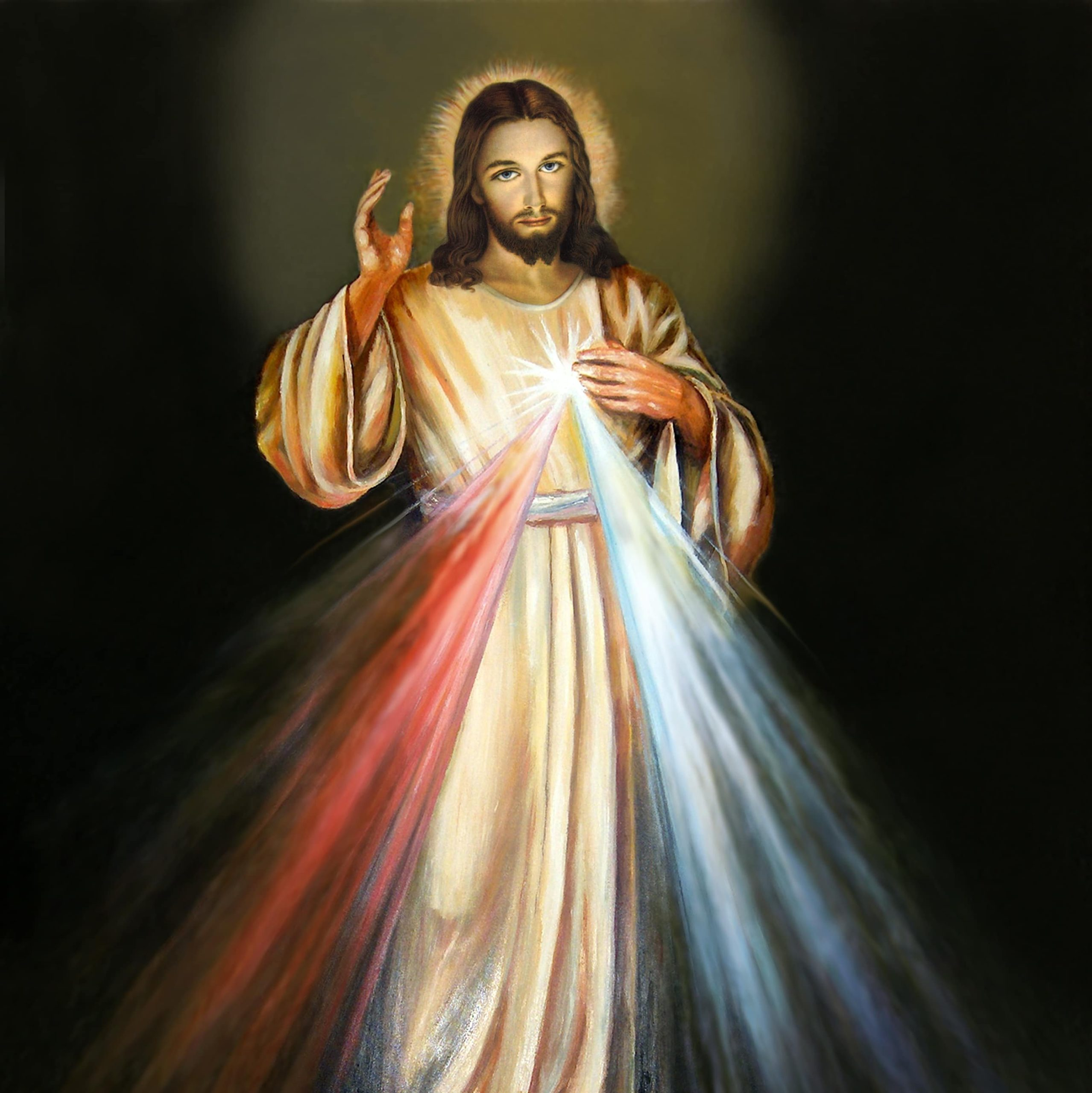 Nagranie mszy świętej z Niedzieli Miłosierdzia Bożego.